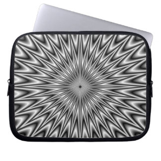 Silver Square Laptop Sleeve