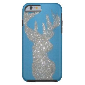 Silver Stag Deer Head Phone case