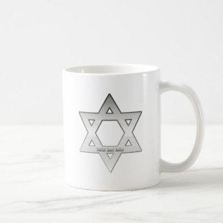 Silver Star of David Mug
