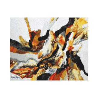 Silver Stonescape Canvas Prints