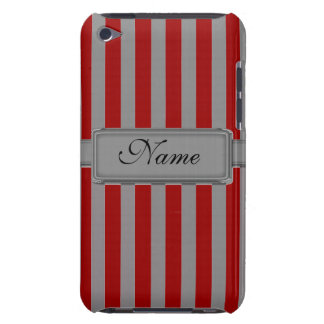 Silver stripes iPod Touch Barely There Case Case-Mate iPod Touch Case