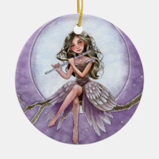 Silver Symphony - Fantasy Ornament