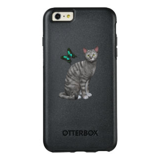 Silver Tabby Design OtterBox iPhone 6/6s Plus Case