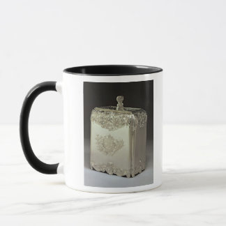 Silver tea canister by Paul de Lamerie Mug