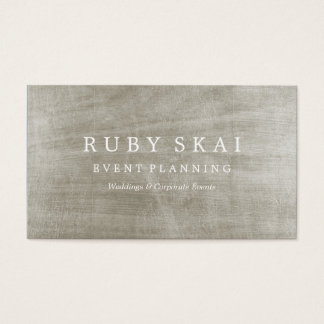 Silver Textured Architectural Business Card