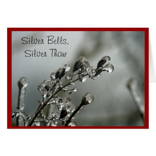 Silver Thaw Christmas Card