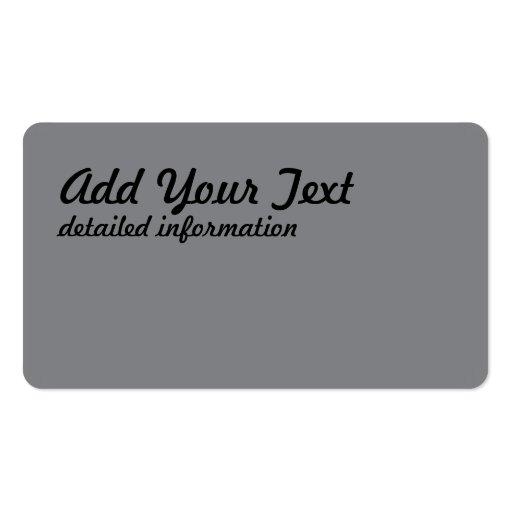 silver thread business card template