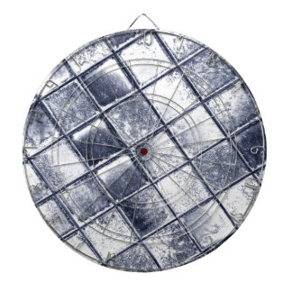 Silver tiles dart boards