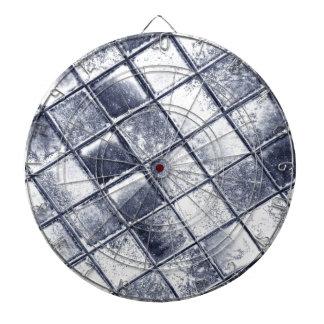 Silver tiles dartboard