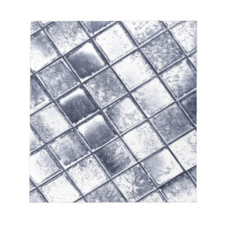 Silver tiles notepad