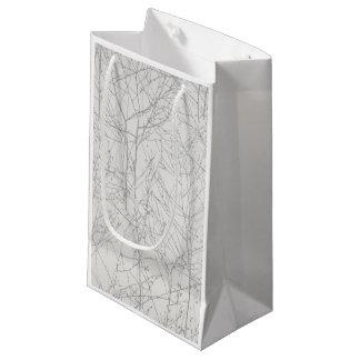 Silver 'Tree' Gift Bag