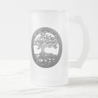Silver Tree of Life Mug