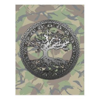Silver Tree of Life Postcard