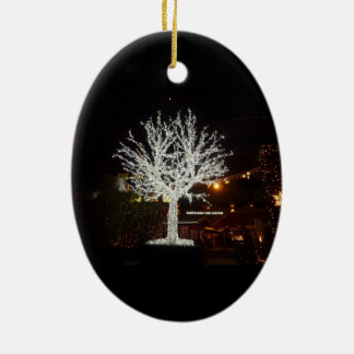 Silver Tree Ornament