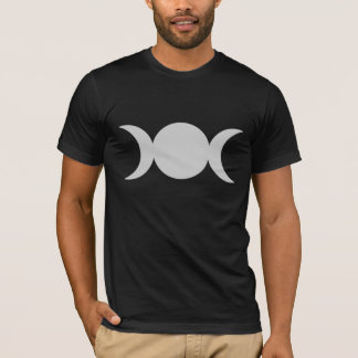Silver Triple Goddess T-Shirt