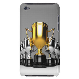 Silver Trophys 3 Barely There iPod Cases