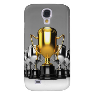 Silver Trophys 3 Galaxy S4 Case