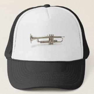 Silver Trumpet Trucker Hat