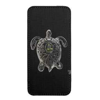 SILVER TURTLE iPhone 5 POUCH