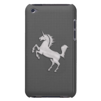 Silver Unicorn Barely There iPod Covers