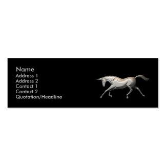 Silver Unicorn - Skinny Business Cards