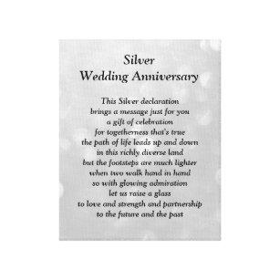 wedding anniversary poem art wall décor zazzle co uk