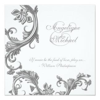 Silver Wedding Anniversary Invitations & Announcements