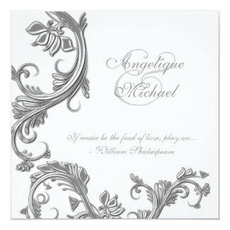 Silver Wedding Anniversary Invitations & Announcements | Zazzle.co.uk