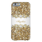 Silver White Gold Diamond Jewel Glitter Barely There iPhone 6 Case