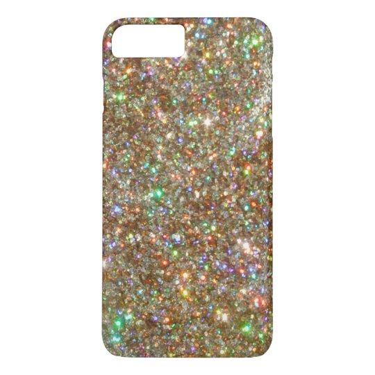 Silver White Gold Diamond Jewel iPhone 7 PLUS