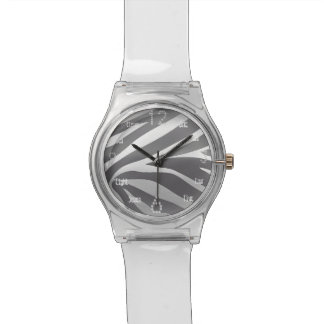 Silver zebra Watches