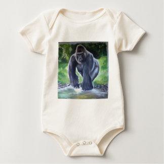 Silverback Gorilla Baby Bodysuit