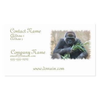 Silverback Gorilla Business Card