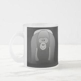 Silverback Gorilla Cartoon Coffee Mug