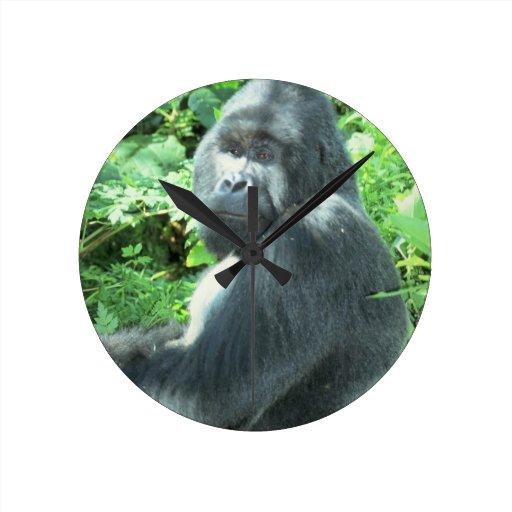 silverback Gorilla Clocks