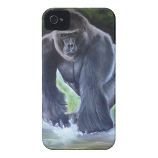 Silverback Gorilla iPhone 4 Case