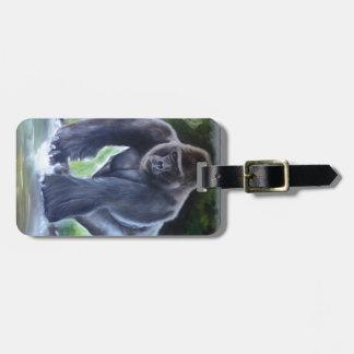 Silverback Gorilla Luggage Tag