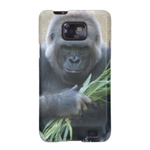 Silverback Gorilla Samsung Galaxy Case Samsung Galaxy SII Covers