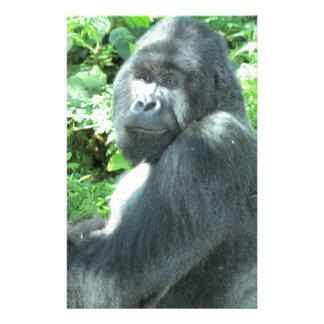 silverback Gorilla Stationery