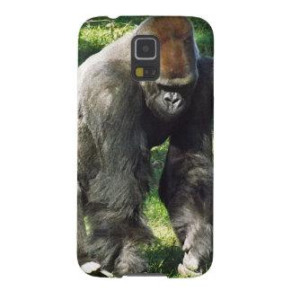 Silverback Male Lowland Gorilla Standing Up Galaxy S5 Case
