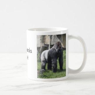 silverbacks, silverbacks, SilverbacksRule! Basic White Mug