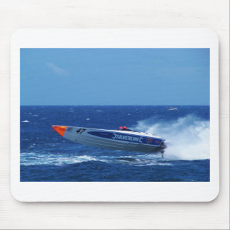 Silverline sponsored powerboat. mouse pad