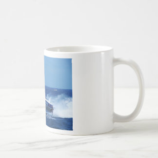 Silverline sponsored powerboat. coffee mug