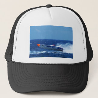 Silverline sponsored powerboat. trucker hat