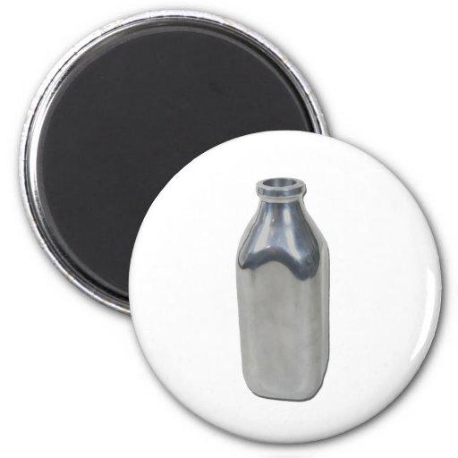 SilverMilkBottle050111 Fridge Magnets