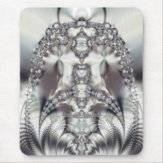silverplated organics mouse pad