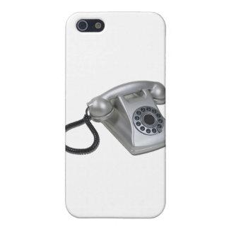 SilverRetroDeskPhone052711 iPhone 5/5S Case