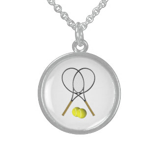 SilverTennis Sport Sterling Silver Necklace
