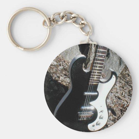 Silvertone 1449 Rare Guitar Keychain