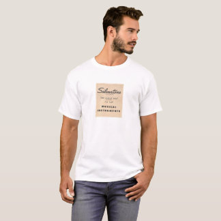 Silvertone Slogan T-Shirt